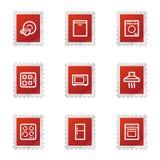 сеть икон домочадца приборов бесплатная иллюстрация
