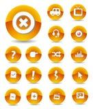 сеть икон стоковые изображения