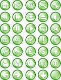 сеть интернета кнопки Стоковые Фотографии RF