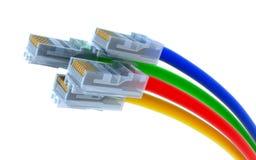 сеть кабеля