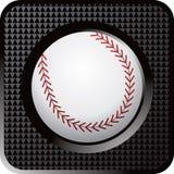 сеть кнопки бейсбола иллюстрация штока