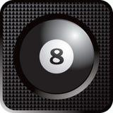 сеть кнопки биллиарда шарика иллюстрация вектора