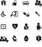 сеть кнопки медицинская Стоковые Фотографии RF