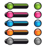 сеть кнопки Стоковые Фотографии RF