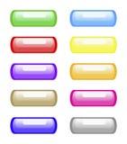 сеть кнопки Иллюстрация штока