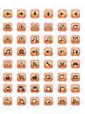 сеть кнопки иллюстрация вектора