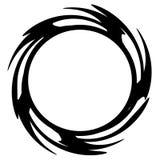 сеть кольца логоса обруча круга Стоковое Изображение