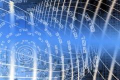 сеть конструкции Стоковая Фотография RF