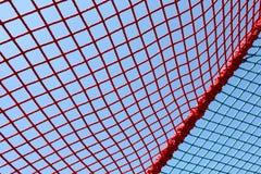 Сеть красного цвета безопасности Стоковое Изображение