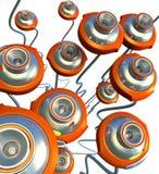 сеть кулиги кулачка Стоковые Изображения RF