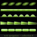 сеть навигации Стоковая Фотография RF