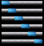 сеть навигации Стоковое фото RF