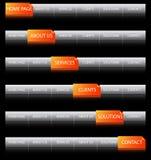 сеть навигации Стоковое Изображение RF
