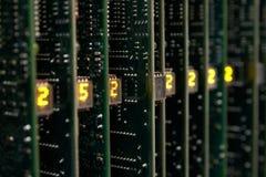 сеть оборудования Стоковое фото RF