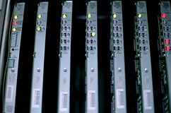 сеть оборудования adc стоковые изображения rf