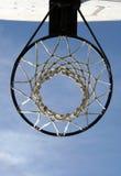 сеть обруча баскетбола стоковая фотография rf