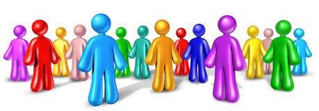 сеть общины связи иллюстрация штока