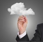 Сеть облака стоковое фото