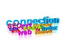 сеть описания иллюстрация вектора