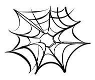 сеть паука предпосылки Стоковые Изображения