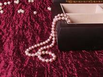 сеть перлы ожерелья утра росы Стоковое Фото