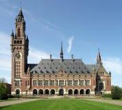 сеть правосудия hague суда международная Стоковое Фото