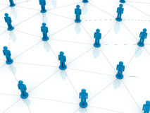 сеть принципиальной схемы Стоковые Изображения