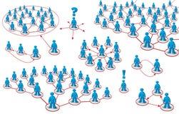сеть принципиальных схем Стоковое Изображение