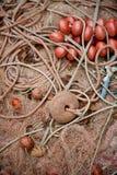 сеть рыб деталей стоковые фото