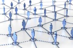 Сеть, сеть, соединение, социальные сети, интернет, comm Стоковое Изображение RF