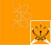 сеть символа Стоковое Изображение