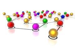 сеть соединений 3d
