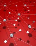 сеть соединения Стоковая Фотография RF