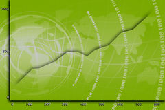 сеть статистик Стоковое фото RF