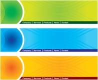 сеть страницы коллектора Стоковое Изображение