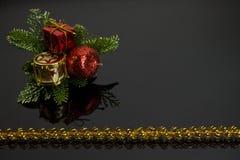 сеть универсалии шаблона страницы приветствию рождества карточки предпосылки Стоковые Фотографии RF