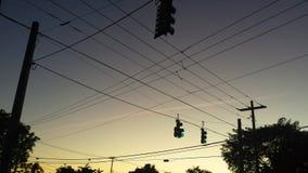 Сеть улицы Стоковое Изображение