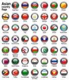 сеть флага кнопок