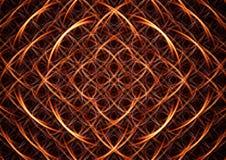 сеть фрактали Стоковое фото RF