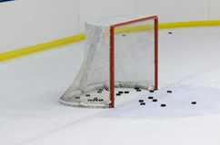 Сеть хоккея на льду Стоковая Фотография RF