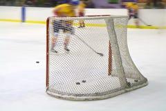 Сеть хоккея на льде Стоковые Фото
