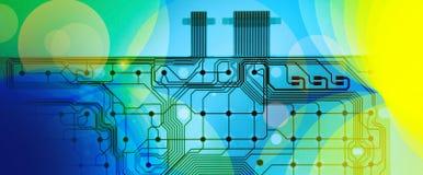 сеть шаблона Стоковое Изображение RF