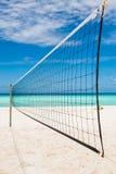 Сеть шарика пляжа Стоковые Фото