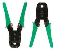 сеть щипцов кабеля Стоковая Фотография RF