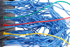сеть эпицентра деятельности Стоковое фото RF