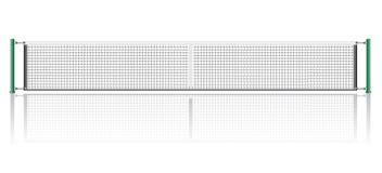 Сеть для игры иллюстрации вектора тенниса Стоковое Фото