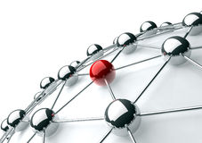 сеть Стоковое Изображение