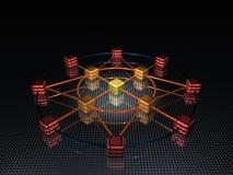 сеть Стоковая Фотография RF