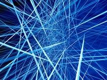 сеть 3d Стоковая Фотография RF