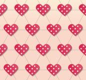 Сеть social влюбленности Стоковые Изображения RF